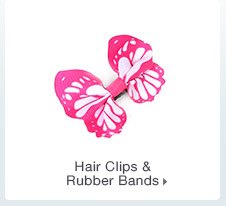 Hair Clips & Rubber Bands