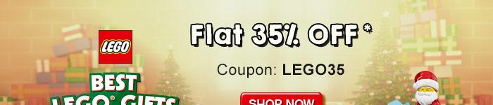 Lego - Flat 35% OFF* | Coupon-LEGO35