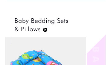 Baby Bedding Sets & Pillows