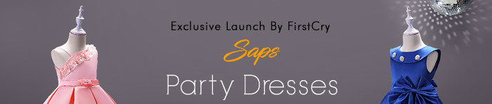 Exclusive launch by Firstcry SAPS | Party Dresses