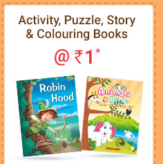 Activity, Puzzle, Story & Colouring Books @ Rs. 1* | Coupon: MAR1BK
