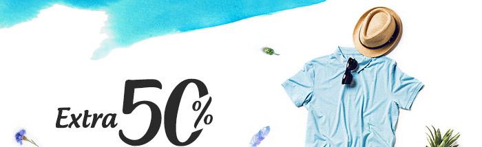 Extra 50% Cashback* on Entire Fashion Range | Coupon: FSH50FEB