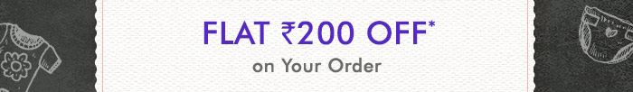 Flat Rs. 200 OFF on Your Order | Coupon : FEBOFFERS