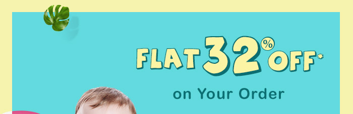 Flat 32% OFF* on Your Order | Coupon : ODR32FEB