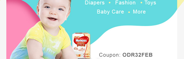 Diapers | Fashion | Toys | Baby Care | More