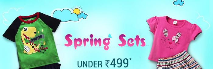 Spring Sets Under Rs. 499*