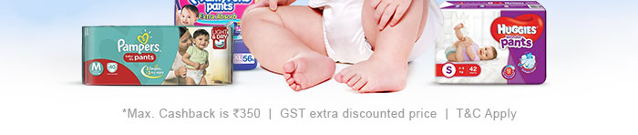 *Max. Cashback is Rs. 350 | GST extra discounted price | T&C Apply