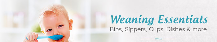 WEANING ESSENTIALS Bibs, Sippers, Cups, Dishes & more
