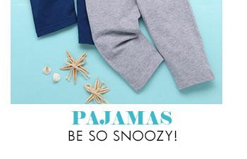 Pajamas be so snoozy!