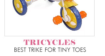 Tricycles best trike for tiny toes
