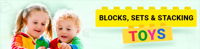 Blocks, Building Sets & Stacking Toys for your Little one
