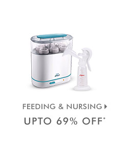 Upto 69% OFF* on Feeding & Nursing