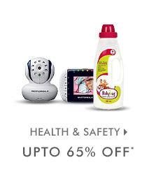 Upto 65% OFF* on Health & Safety