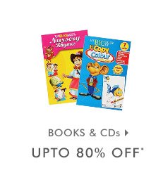 Upto 80% OFF* on Books & CDs