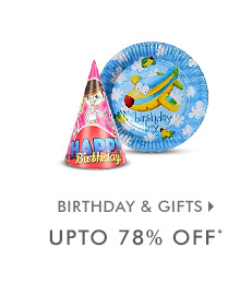 Upto 78% OFF* on Birthday & Gifts