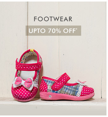 Upto 70% OFF* on Footwear