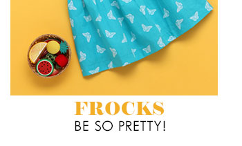 Frocks be so pretty!