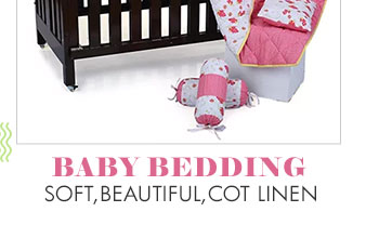Baby Bedding- Soft,beautiful,Cot linen