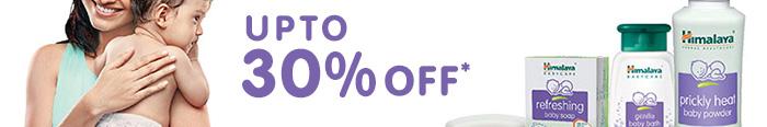 Upto 30% OFF*