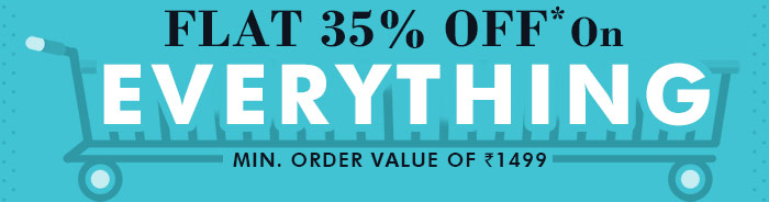 Flat 35% OFF* on Everything | Coupon: MAR35ODR