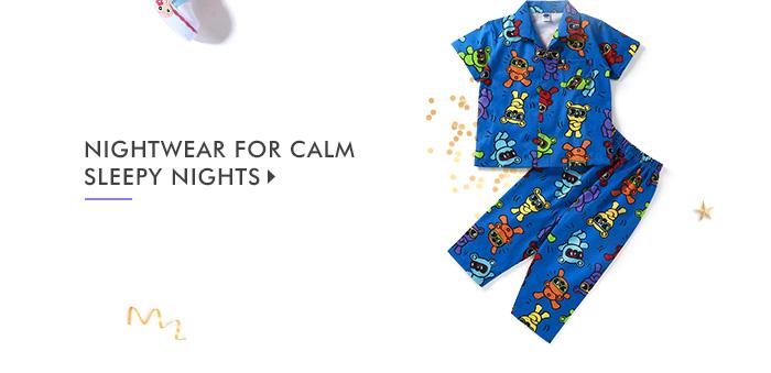 Nightwear For Calm Sleepy Nights