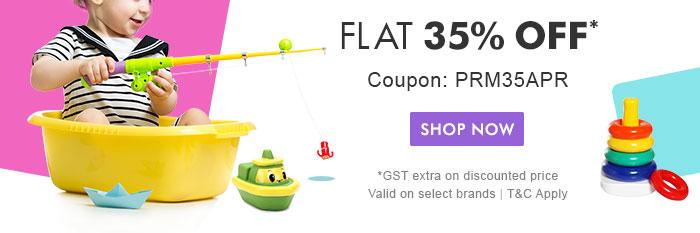 Flat 35% OFF* | Coupon: PRM35APR