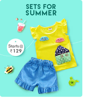 Sets for Summer - Starts from Rs. 129