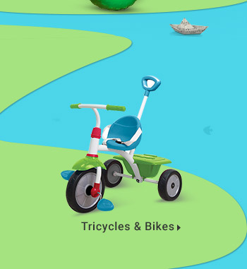 Tricycles & Bikes