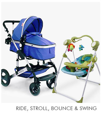Ride, Stroll, Bounce & Swing