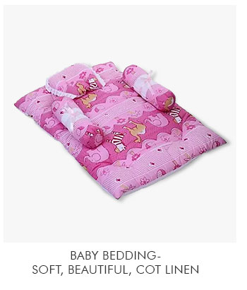 Baby Bedding- Soft, beautiful, Cot linen