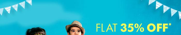 Flat 35% OFF* on Premium Fashion Range