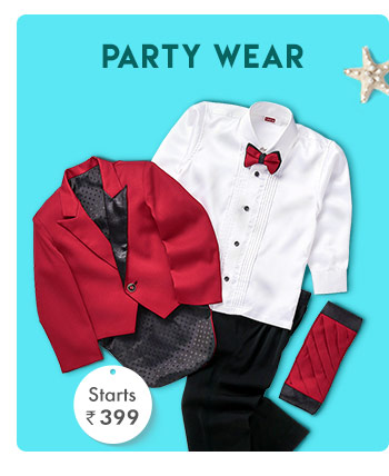 Party Wear  - Starts from Rs. 399