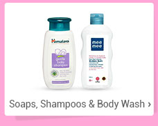 Soaps, Shampoos & Body Wash