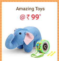 Amazing Toys @ Rs. 99* | Coupon: M99MAY