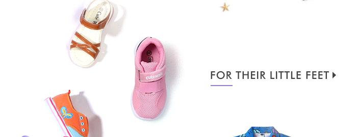 For Their Little Feet