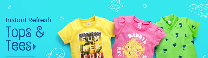 Instant Refresh Tops & Tees