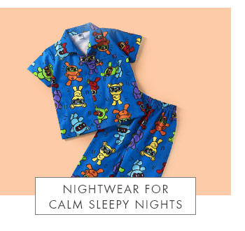 Nightwear For Calm Sleepy Nights