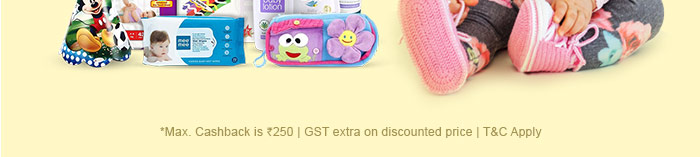 *Offer ends tonight | Max. Cashback is Rs. 250 | GST extra on discounted price | T&C Apply