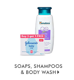 Soaps, Shampoos & Body Wash