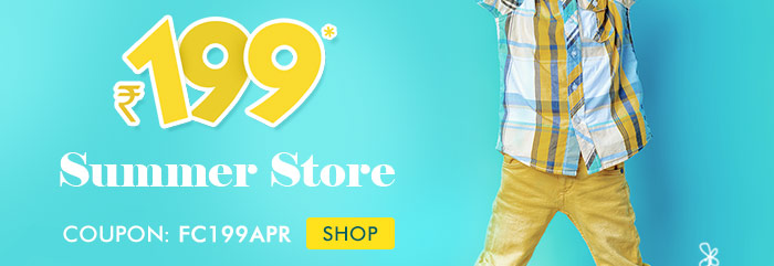 Rs. 199* Summer Store | Coupon: FC199APR