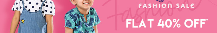 Flat 40%* on Entire Fashion Range  |  Coupon: MGM40FS