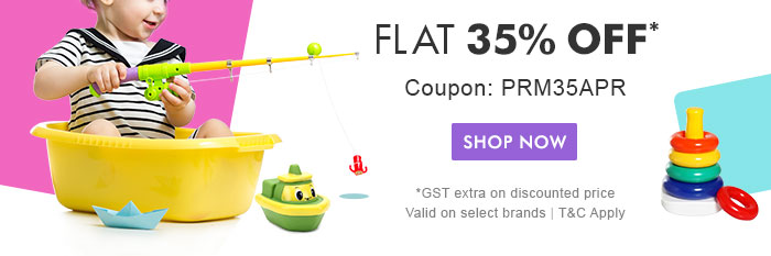 Flat 35% OFF* | Coupon: PRM35APR