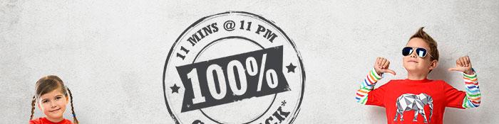 100% CASHBACK* on Entire Fashion Range | COUPON: FHN100APR