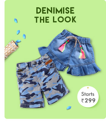 Denimise the Look- Starts from Rs. 299*