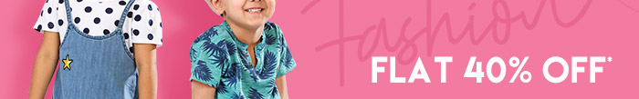 Flat 40% OFF* on Entire Fashion Range  |  Coupon: MGM40FS