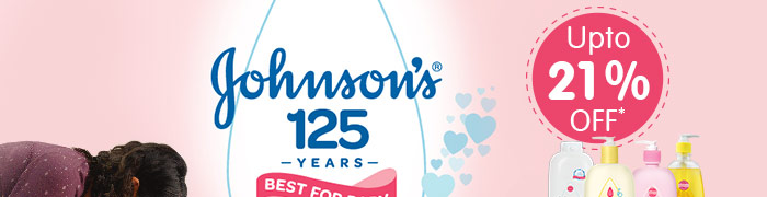Johnson's_Upto 21% OFF*