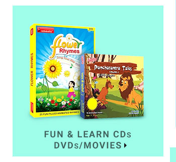 Fun & Learn CDs/DVDs/Movies