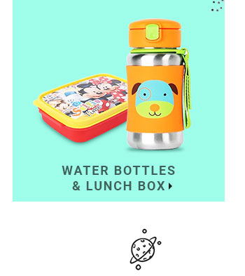 Water Bottles & Lunch Box