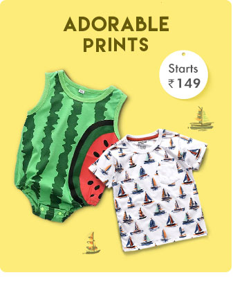 Adorable Prints - Starts from Rs. 149*