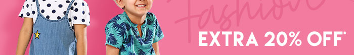 Extra 20% OFF* on Entire Fashion Range  |  Coupon: MGM20FS
